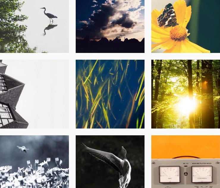 Vorgeschlagener Instagramme