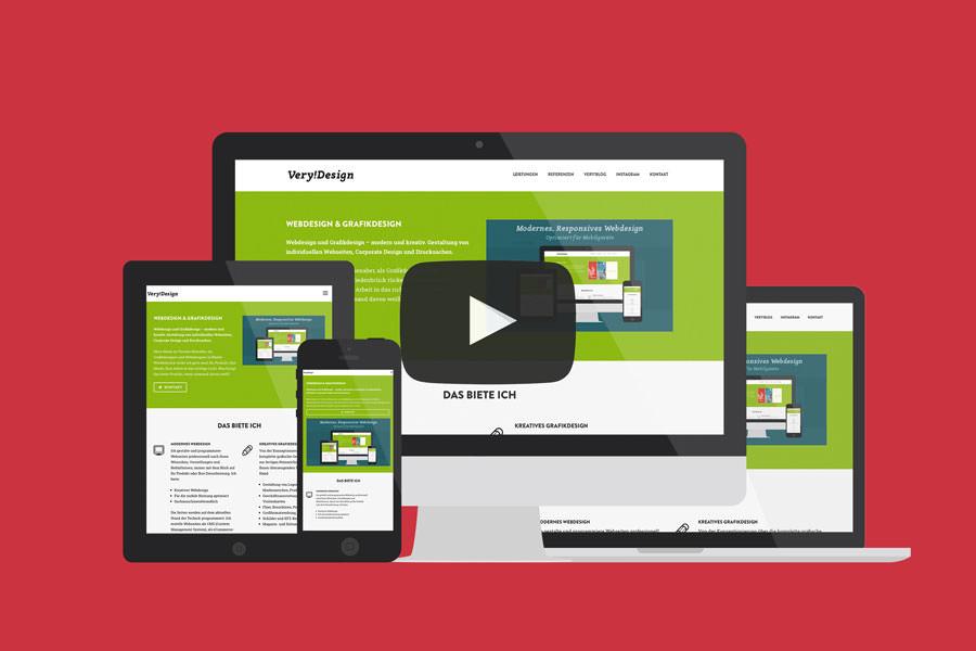 Responsive Webdesign Video
