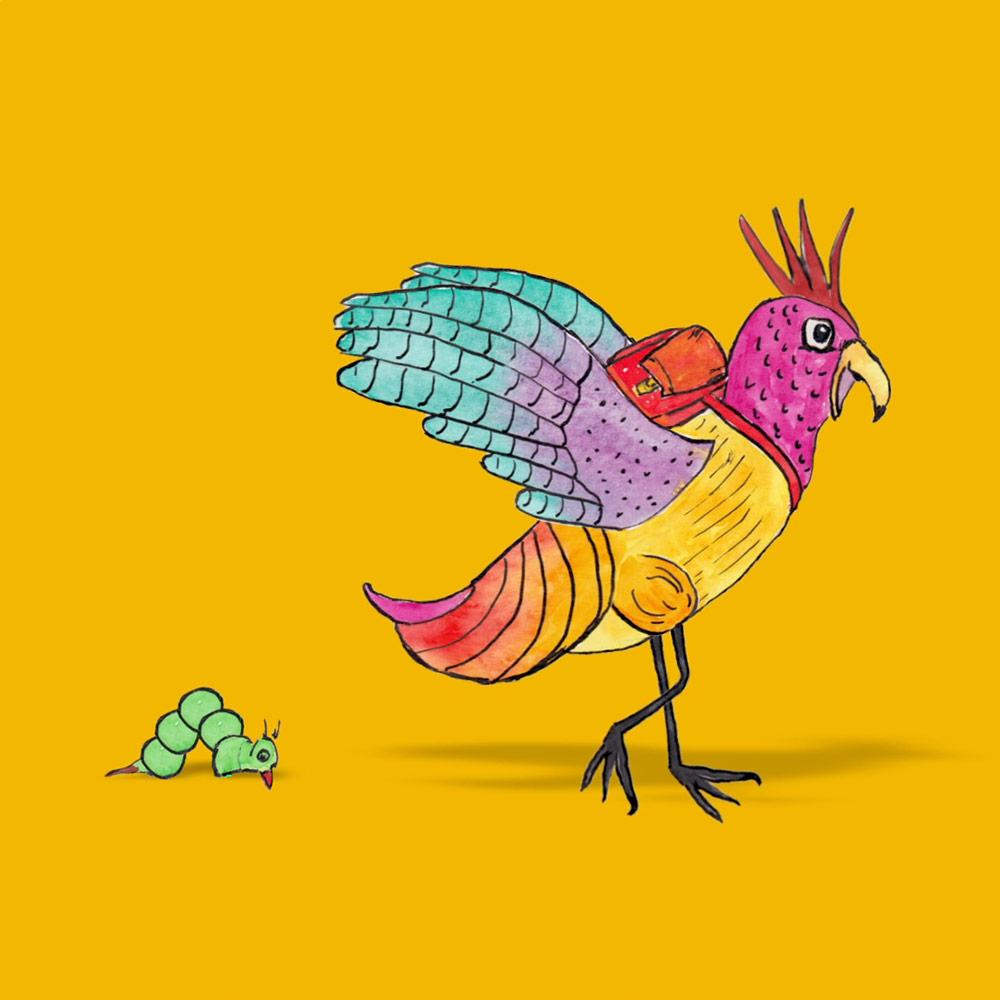 Vorschauvogel © E. Martini