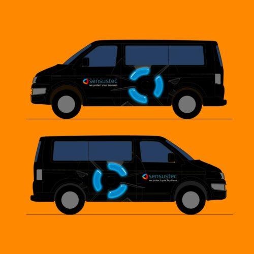 KFZ-Design für die sensustec GmbH
