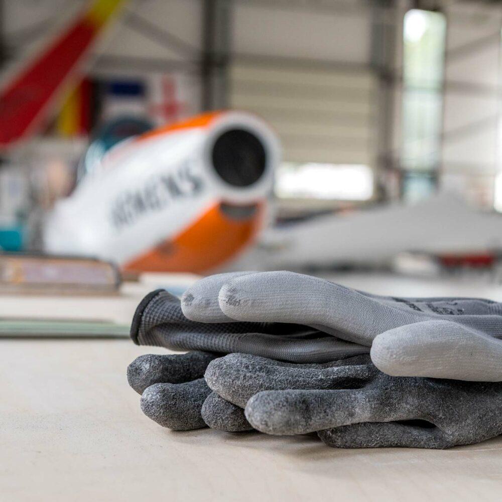 Silence Aircraft GmbH Innen, Detailaufnahme